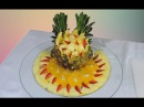 EASY DECORATION WITH SLICED FRUIT - By J Pereira Art Carving