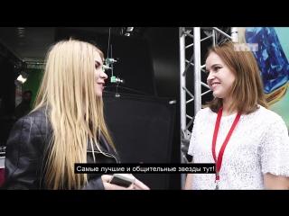 Полина Гренц на площадке #ТНТздесь на VK-фесте