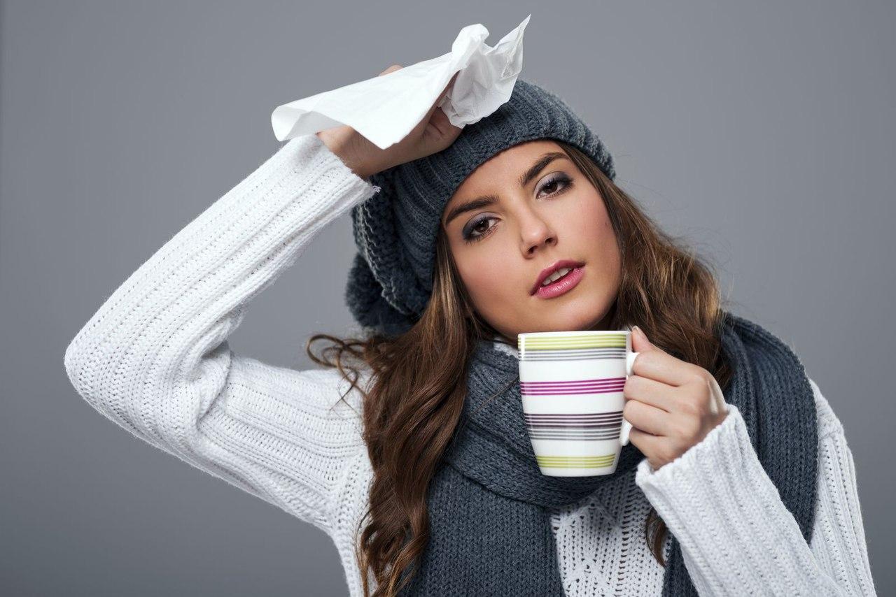 Как лечить простуду дома?