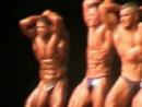 2003-11-15. Alytus. LT kultūrizmo Taurė. Vyrai. Laisvąją programą atlieka šiaulietis Rolandas Remeikis