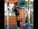 Ана Роза Кастелляйн - присед 160 кг на 5 повторов