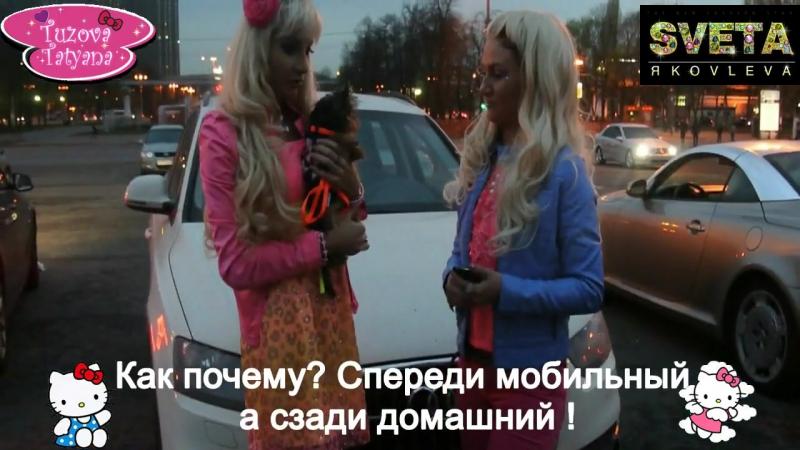 Анекдот про блондинок 8 серия - Тузова Таня и Света Яколева