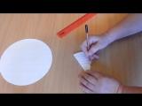 Фонарик гирлянда из бумаги поделки на Новый ГОД легко и просто