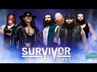 The Brothers of Destruction vs Wyatt Family Survivor Series 2015