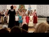 Первое выступление в хоре. Музыкальная школа имени М.И. Глинки 19.12.2016