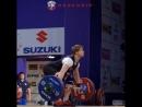 Анастасия Романова рвет 103.107. и 112 кг
