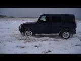 Лучшие видео-Гелендваген против НивыТурбо(200л.с.)на бездорожье.