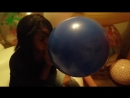 Balloon Boy - Girl blowing up balloons