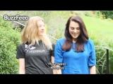 ASL Ice Bucket Challenge 2014: Натали Дормер и Кэти МакГрат (русские субтитры)