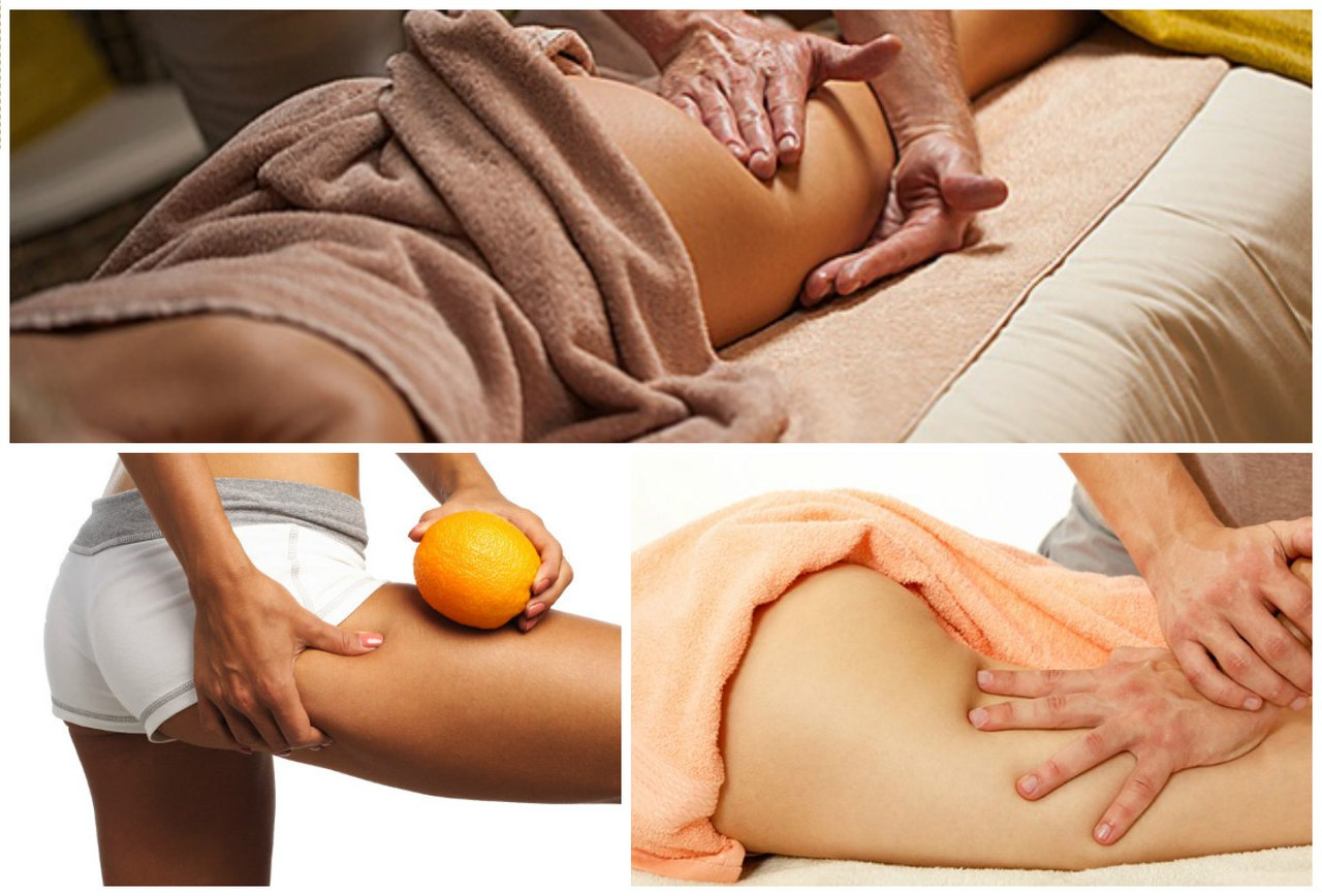 Целлюлит массаж похудение