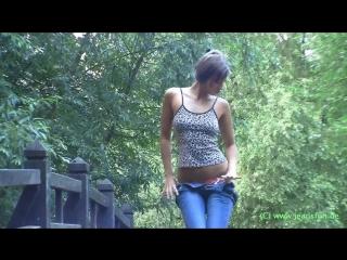 Maria rya (мария рябушкина,tara, melena, sexysu4ka) - 2 [denim, lingerie, short shorts, tight jeans, posing, panty, leggins]