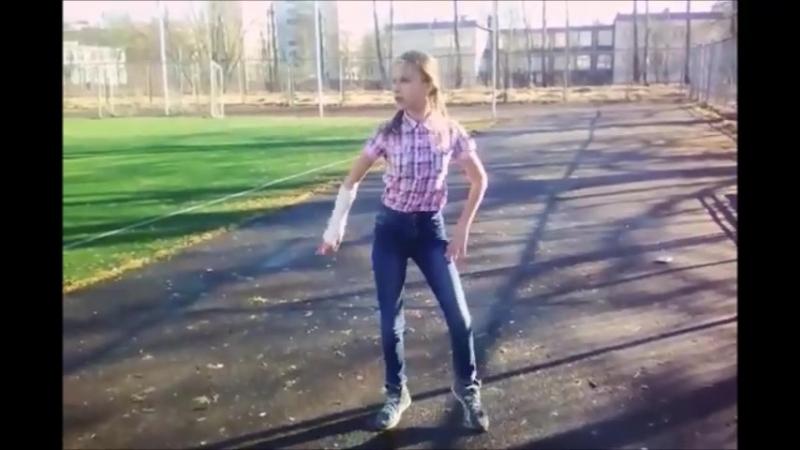Женя танцует на улице под песню MiyaGi Эндшпиль, Рем Дигга - I Got Love
