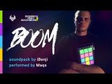 iBenji - Boom - Drum Pad Machine (performed by Maqs)