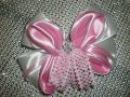 МК Заколка- Бант Своими Руками. /DIY /KANZASHI / Bow Ribbons /Make Hair Bow. /Flower / Tutorial /