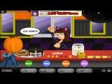 Papa's Cheeseria Day 55 Rank 35 Halloween (New Wild Onion Sauce) Gameplay