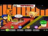 Papa's Cheeseria Day 54 Rank 34 Halloween + Perfect 100 Customer Gameplay