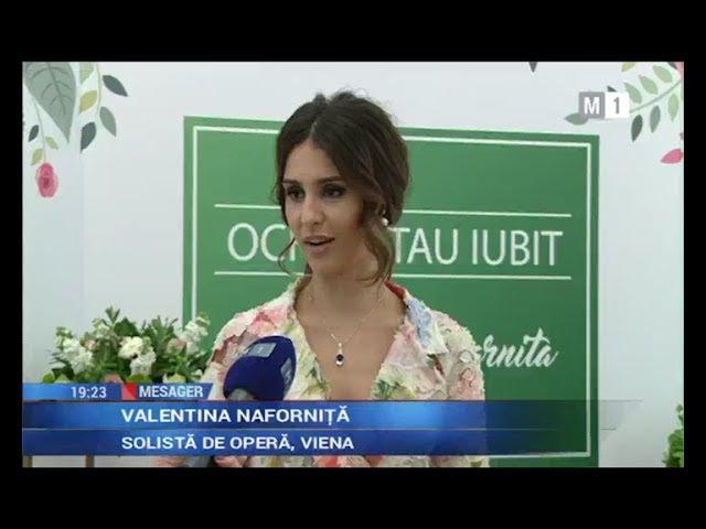 """Valentina Naforniţă și Eugen Doga au lansat videoclipul """"Ochiul tău iubit"""", versuri - Mihai Eminescu"""
