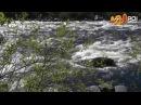 река Кола, Мурманск / seething river Kola, Murmansk, Russia