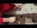 Конструктор Мега Блокс Хот Вилс (Hot Wheels Mega Bloks). Собираем машинки, распаковка игру ...