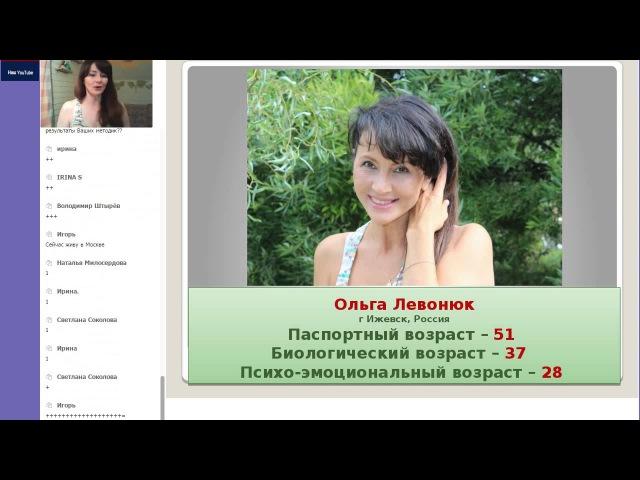 Ольга Левонюк Возраст. Обратный отсчет