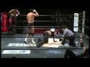 FREEDOMS - Barbed Wire Boards Takashi Sasaki, GENTARO vs. Keniji Fukimoto, Minoru Fujita - 7/29/15