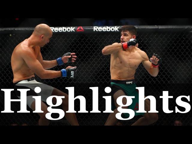 BJ Penn vs Yair Rodriguez highlights Яир Родригес vs Би Джей Пенн Лучшие моменты боя bj penn vs yair rodriguez highlights
