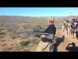 Shooting Two Barrett 50 Caliber Rifles!!!