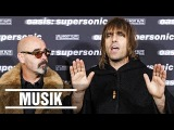 Oasis Liam Gallagher about Manchester City, his mom and supersonic (full interview)