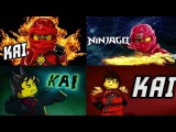 LEGO ninjago KAI + Jay, Zane, Cole, Nya, Lloyd, Sensei, Garmadon, new season series and part Лего ни