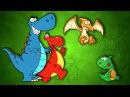 Мультик сказка - Планета динозавров. Детский мультфильм, детям на ночь