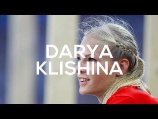 Beautiful Darya Klishina Long Jump Women European Indoor Athletics Championships Belgrade 2017