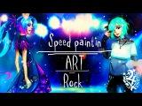 Speed paintin Paint Tool SAI  Rock  ART