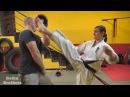 Ураганные ноги Киокушинкай Каратэ Часть 3 Удары ногами Коронки и советы от Чемпионки Мира