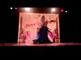 Luana Ptukha, performance in Reims, France