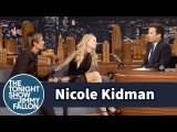 Jimmy Fallon and Nicole Kidman Have Another Awkward Interview