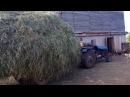 [ИЗ АРХИВА] - Везем сено на самодельном тракторе