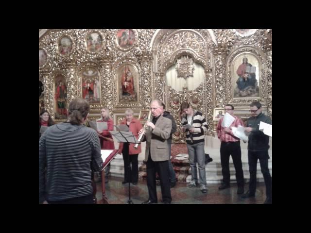 В.Степурко - Буду славити Господа (Псалом 111) Юрій Василевич (сопрано саксофон)