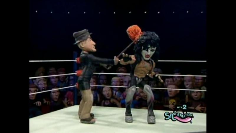 Celebrity Deathmatch Звёздный Бой Насмерть Season 2 Episode 19.Сезон 2 серия 19