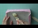 Шкатулка картонаж часть 1 cartonnage box tutorial