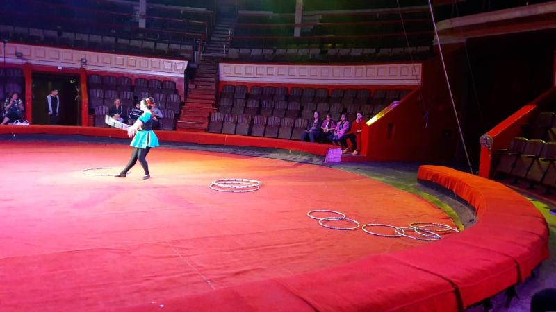 Народна циркова студія ''Каскад'', м. Трускавець, Олександра Брус (хула-хупи)