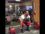 Дэн Грин - тяга 325 кг на 5