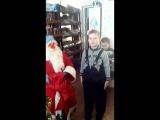 рождество 2017 Егор и племянница Катюша