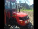 Трактор DF-244 и картофелесажалка
