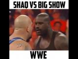 Who remembers the Shaq-Big Show showdown🔥😳