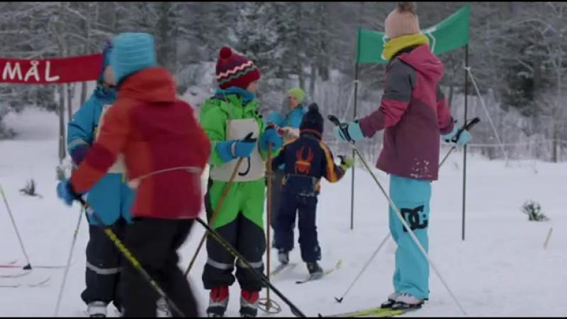 Карстен и Петра зимой 2014 Норвегия детский
