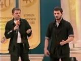 КВН Утомленные солнцем - Тишина должна быть в библиотеке   Михаил Галустян вышибала охрана чоп