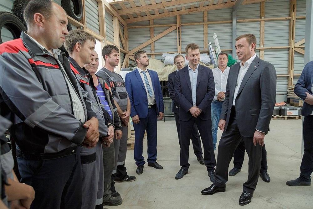 Компания планирует построить в тульском регионе 10 ферм