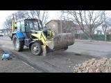 Ось так ремонтують дорогу у м.Смла УкранаВот так ремонтируют Дороги в г.Смела ...