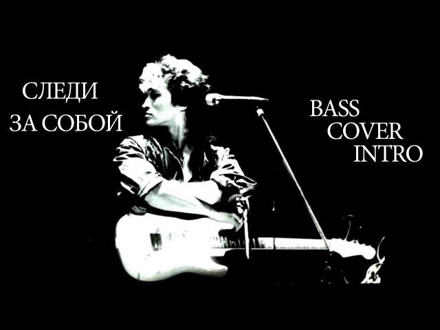 КИНО- Следи за собой(bass cover)