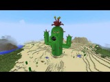 Minecraft vs Zombies   GIGA Cactus!! Working!